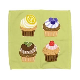 カップケーキ Towel handkerchiefs