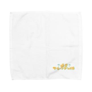 直角フルーツサンド島 Towel handkerchiefs