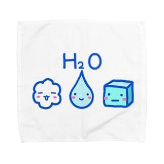 3きょうだい:みず Towel handkerchiefs