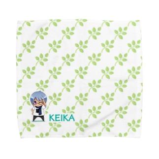 【ちびけいか】タオル Towel handkerchiefs