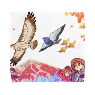 best-friends.shopのAutumn Towel handkerchiefs