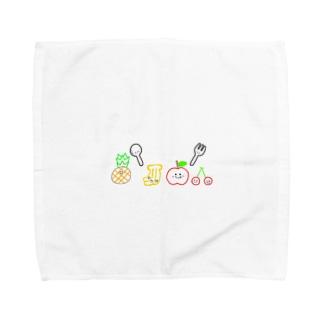 食育  Towel handkerchiefs