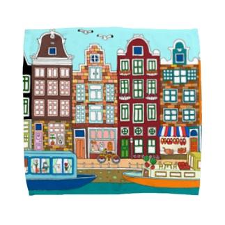 アムステルダム Towel handkerchiefs