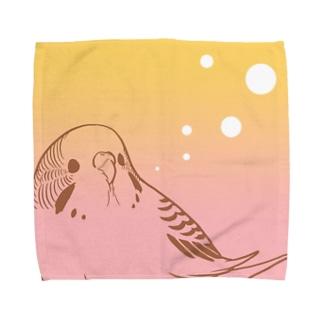 セキセイピンクレモネード Towel handkerchiefs