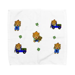 おにぽんシリーズ Towel handkerchiefs