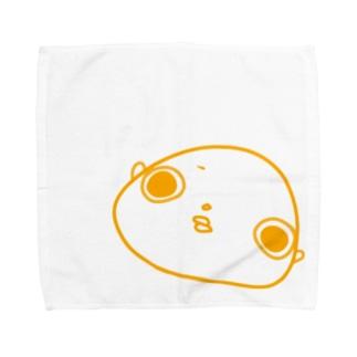 ハッピーイエローさいとうさん Towel handkerchiefs