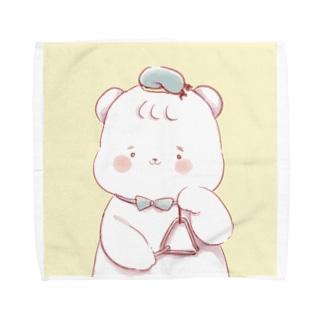 とらいあんぐベアー Towel handkerchiefs