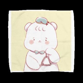 もらんのとらいあんぐベアー Towel handkerchiefs