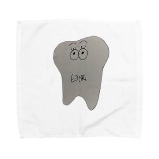 臼歯ちゃん Towel handkerchiefs