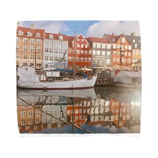 世界の風景 Towel handkerchiefs