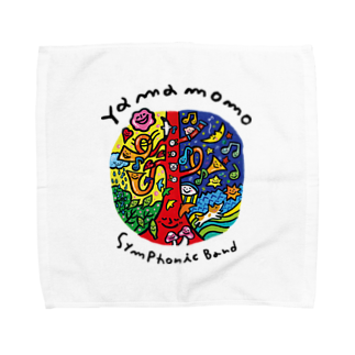 やまももショップ(2号店)のやまももさんの世界 Towel handkerchiefs