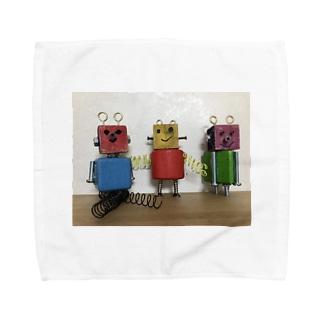 ロボくんトリオ☆☆☆ ロボット Towel handkerchiefs