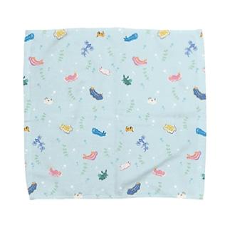 ウミウシ Towel handkerchiefs
