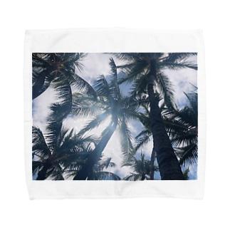 ヤシの木 Towel handkerchiefs