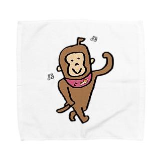 ジョアくん(白) Towel handkerchiefs