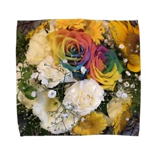 送別会の花 Towel handkerchiefs