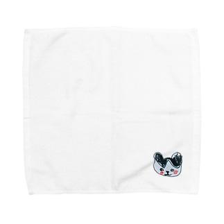 ヒニクマ Towel handkerchiefs