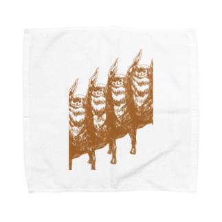 猫3 Towel handkerchiefs