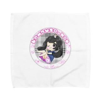 のんちゃん Towel handkerchiefs