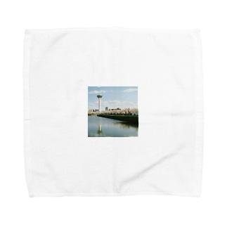 五稜郭の春 Towel handkerchiefs
