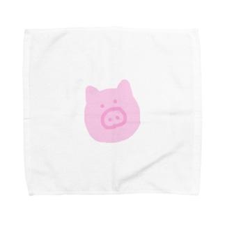 ぶたくん Towel handkerchiefs