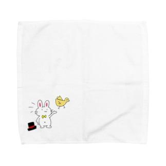 『マジックショーをしよう!』byうさぎぐんだん Towel handkerchiefs