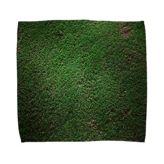 THE 芝生。 Towel handkerchiefs