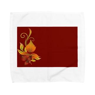 緋色 Towel handkerchiefs