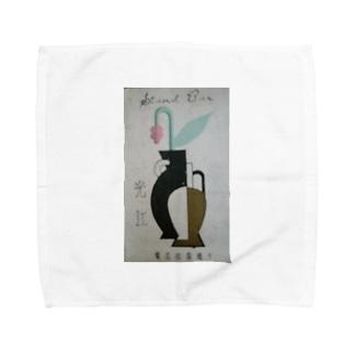 レトロTOKIO スタンド光江 Towel handkerchiefs