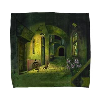 秘密のお散歩 Towel handkerchiefs