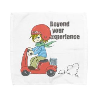 BYE-BYE Towel handkerchiefs