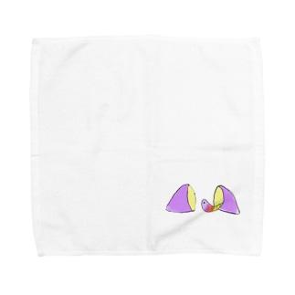 新しい家 Towel handkerchiefs