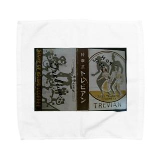 レトロTOKIO 純喫茶トレビアン Towel handkerchiefs