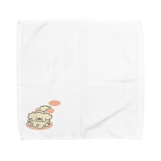 走るぷんた Towel handkerchiefs