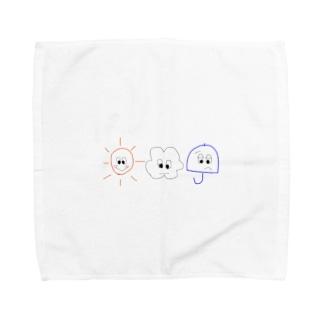 おてんききょうだい Towel handkerchiefs