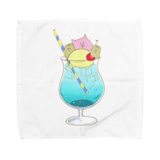 もんぶーソーダ Towel Handkerchief