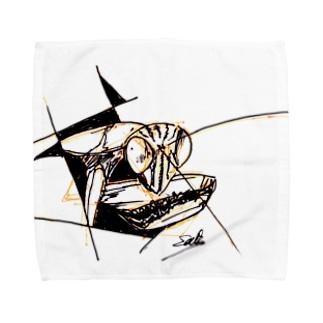 オオカマキリ Towel handkerchiefs