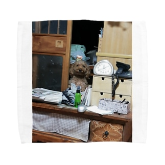 うちの愛犬 Towel handkerchiefs