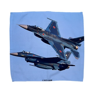 JASDF Mitsubishi F-2 Towel handkerchiefs