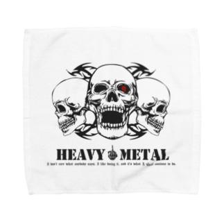 HEAVY METAL Towel handkerchiefs