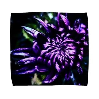 小菊咲きました Towel handkerchiefs