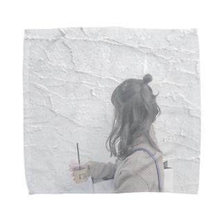 女の子 Towel handkerchiefs