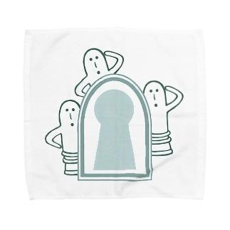 ハニワ3兄弟!! Towel handkerchiefs