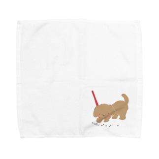 おさんぽ Towel handkerchiefs
