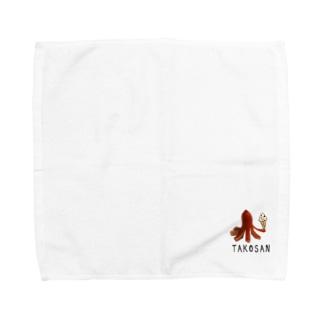 タコさんウィンナーの日常 Towel handkerchiefs