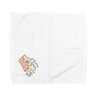 ぷんたガブゥ Towel handkerchiefs