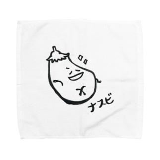 ナスビくん Towel handkerchiefs