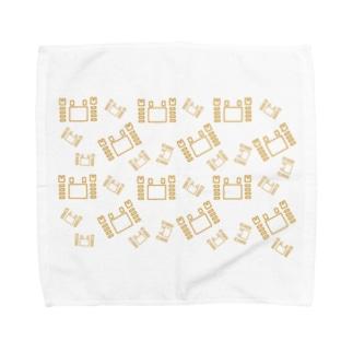 カニ蟹カニ Towel handkerchiefs