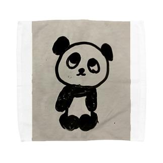 味わいパンダ Towel handkerchiefs