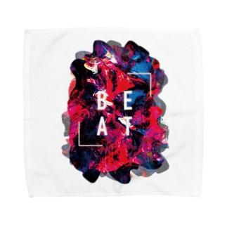 「 BEAT 」 Towel handkerchiefs